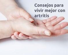 Consejos vivir con artritis