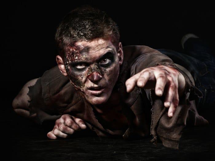 disfraz de zombie para halloween muerto