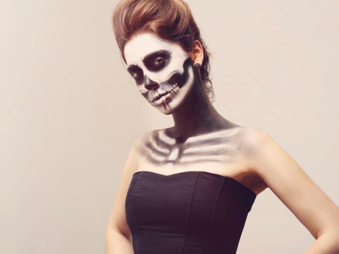 trucos de maquillaje para halloween novia