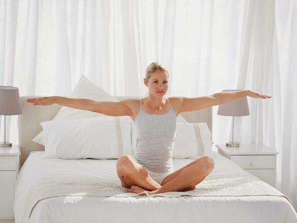 ejercicios para hacer en la cama