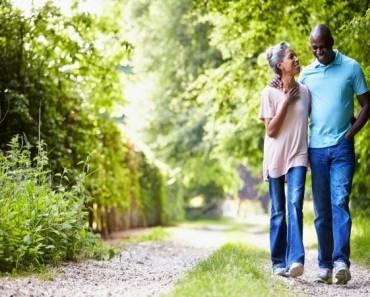 Caminar y cáncer de próstata
