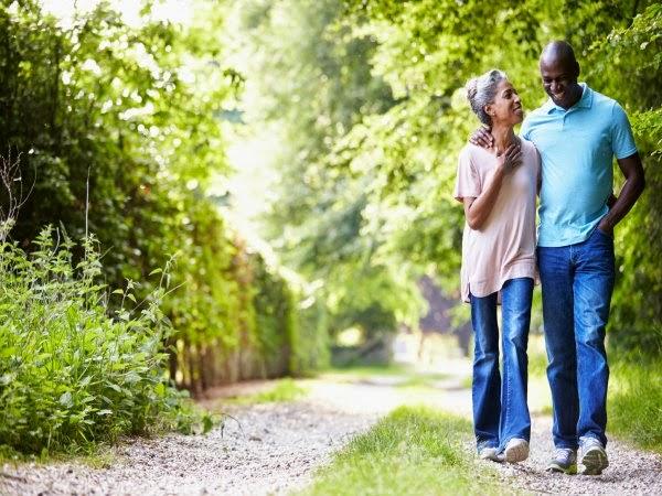 Caminar mejora la calidad de vida de los supervivientes de un cáncer de próstata