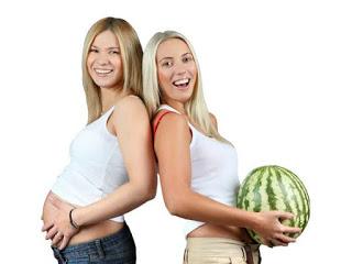 Hechos impactantes sobre el embarazo mujer melon