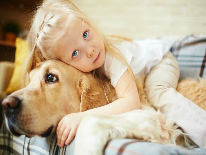 Por qué las mascotas son beneficiosas para la salud de los niños