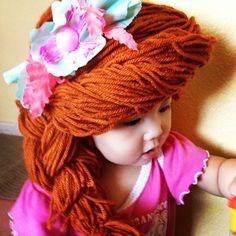 Pelucas de princesas para niñas con cáncer