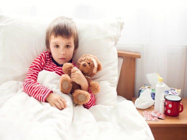 Consejos para mantenerte saludable cuando tu hijo está enfermo