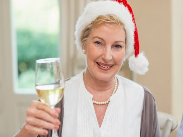 Controlar la menopausia en Navidad