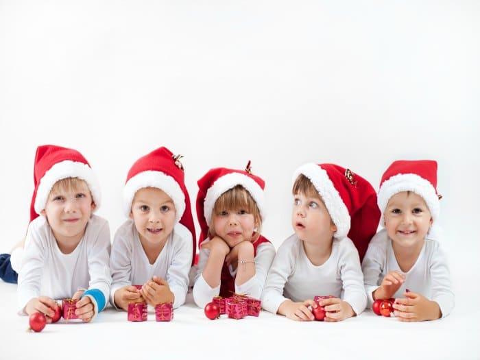 Cómo mantener sanos a los niños en navidad