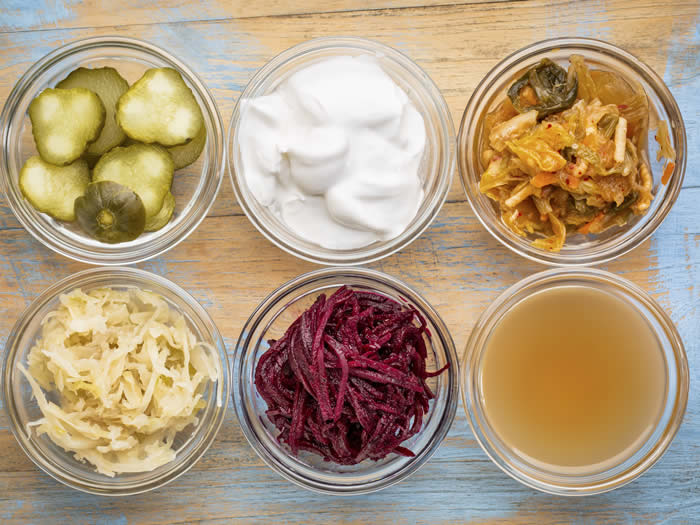 Antibióticos naturales: comida fermentada