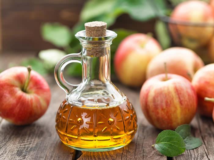 Antibióticos naturales: vinagre de sidra de manzana