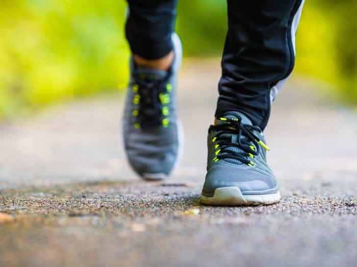 Perder peso: caminar