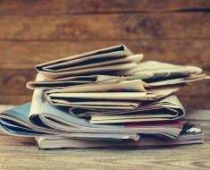 Usos papel de periódico