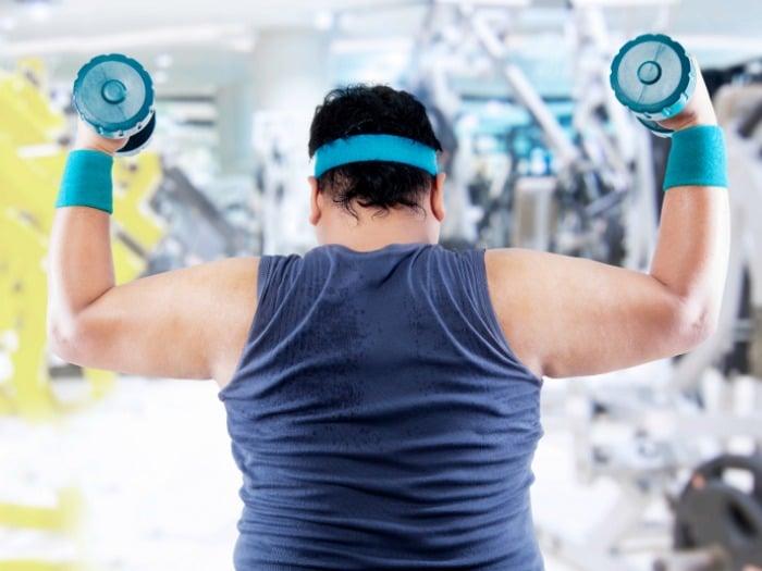 5 Rutinas de ejercicios perfectas para personas con sobrepeso
