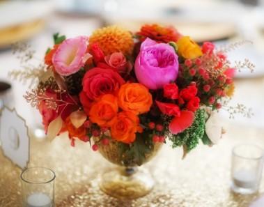 Centros de mesa para adornar en primavera