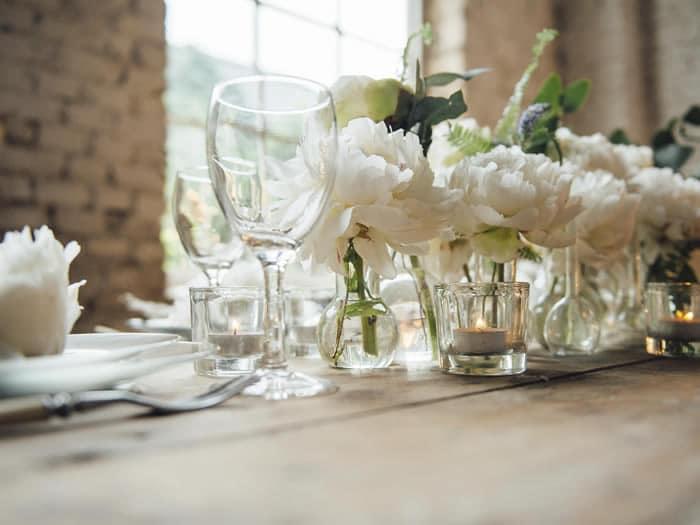 Detalle mesa bodas
