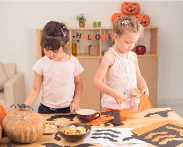 Adornos caseros Halloween