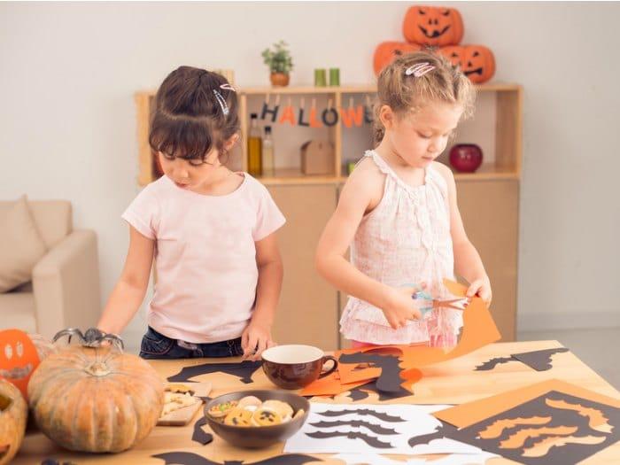 como hacer adornos para halloween niñas