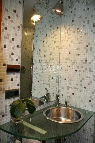 Lograr que un ba o parezca mas grande decoracion en el hogar - Decoracion de un bano ...
