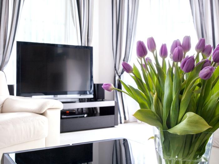 Flores decorativas primavera