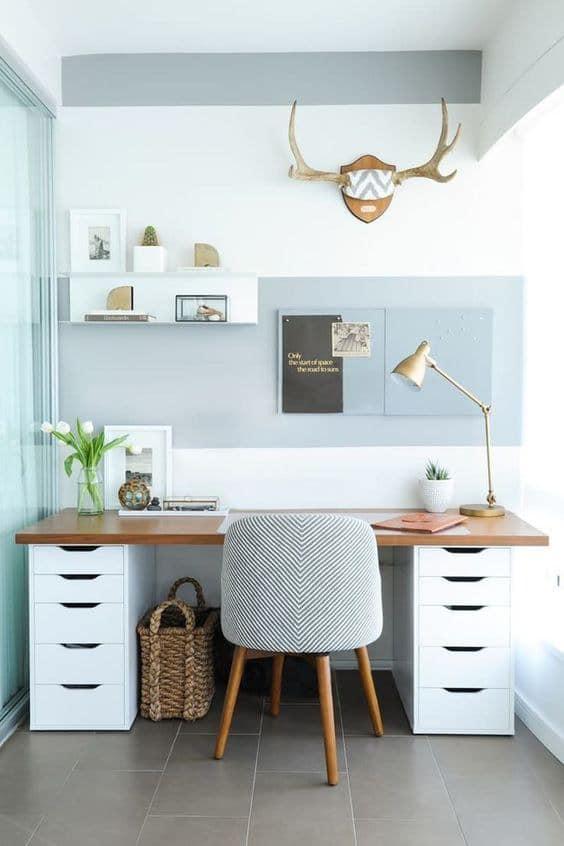 oficina en casa pequeña