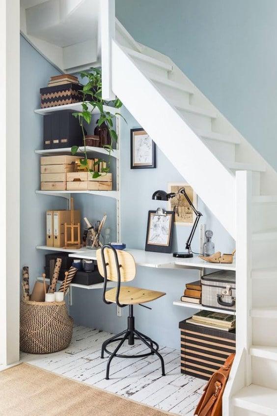 Oficina en casa ideas espacios pequeños