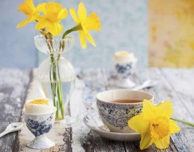 decoración primavera casa