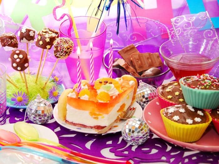 decoración de fiestas infantiles mesa