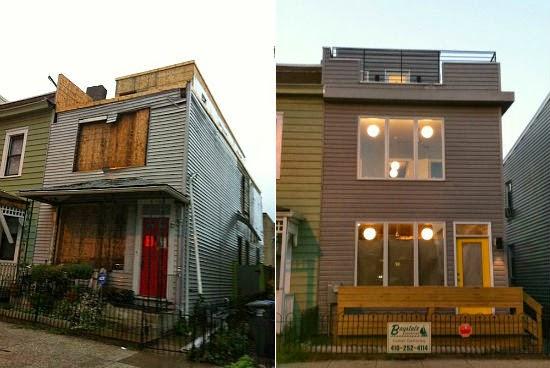 Cambiar la fachada de una casa decoracion en el hogar - Cambiar puertas de casa ...