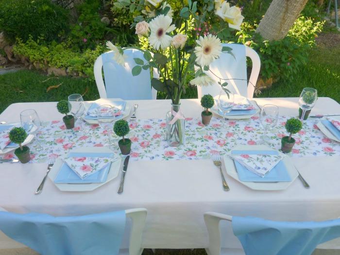 Combinaciones adornos y decoraci n para la primera - Decoracion comunion en casa ...