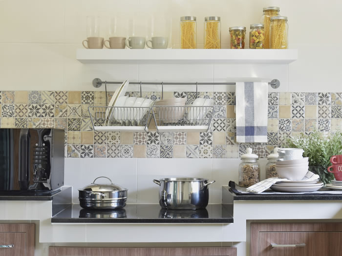 Hacer que una cocina parezca más lujosa