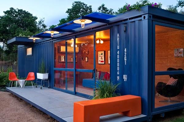 10 bell simas casas hechas de contenedores decoracion en el hogar - Contenedores para casa ...