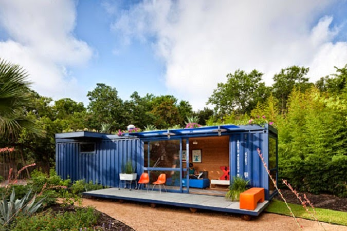 10 bell simas casas hechas de contenedores decoracion en el hogar - Casas hechas de contenedores ...
