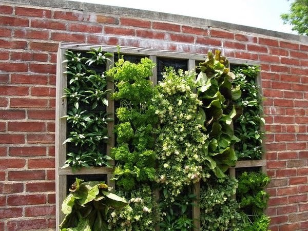 20 ideas sorprendentes para hacer jardines verticales en for Paredes de madera para jardin