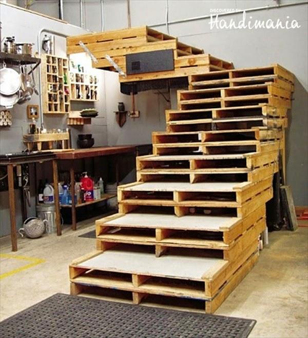 Palets formas ingeniosas de reutilizarlos decoracion en - Palet de madera decoracion ...