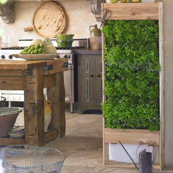 20 ideas sorprendentes para hacer jardines verticales en for Casa y jardin muebles