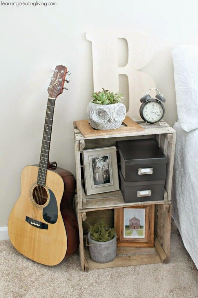 Cajas de madera recicladas 17 ideas para inspirarte - Cajas de madera decoracion ...