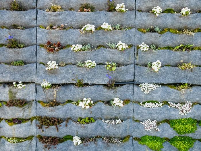 20 ideas sorprendentes para hacer jardines verticales en for Ideas para armar un jardin