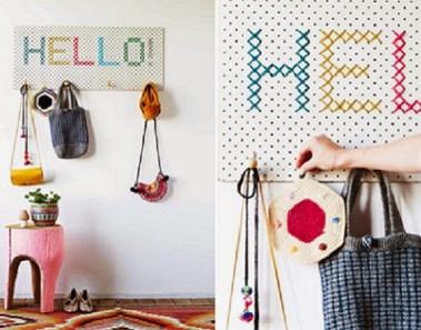 Decoración con Pegboards: 14 ideas increíblemente prácticas para hacer tú mismo
