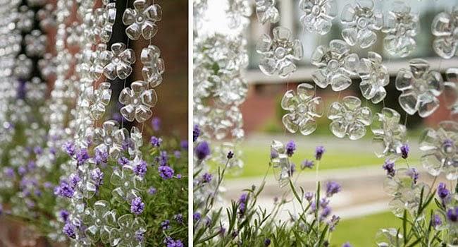 Ideas para decorar reciclando decora tu casa con botellas de pl stico decoracion en el hogar - Casas de plastico para jardin ...