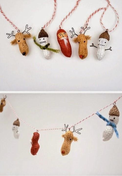 15 ideas de decoracin casera DiY para Navidad Decoracion en el hogar