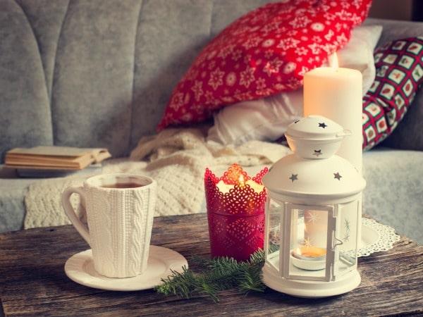 decorar candelabros navidad