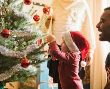 decorar salón navidad
