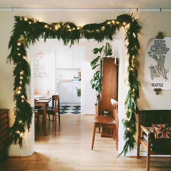8 ideas para decorar tu sal n estas navidades decoracion - Como decorar un salon para navidad ...