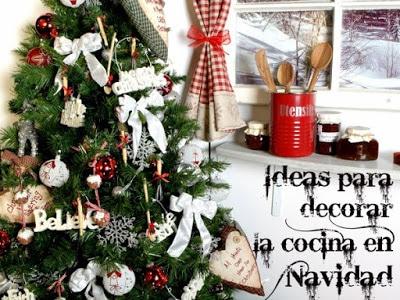 decorar cocina en navidad