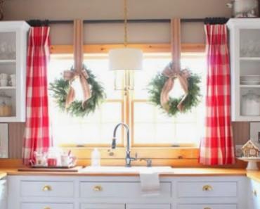 ideas decorar cocina navidad