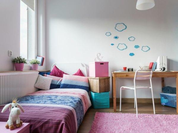 C mo decorar y organizar el cuarto de los ni os for Habitacion nino y nina