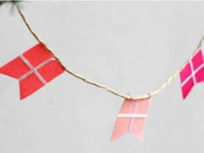 guirnaldas papel banderas