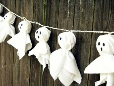 guirnaldas papel fantasmas