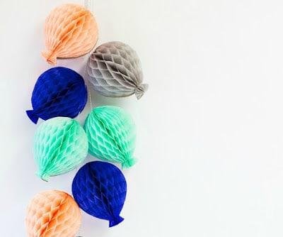 guirnaldas papel globos