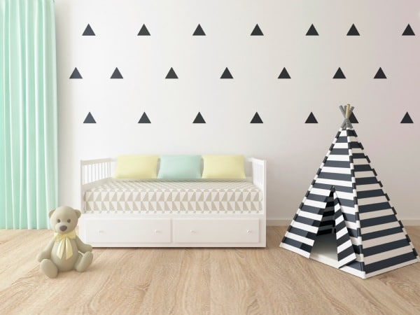 Simple Boy Room Mural